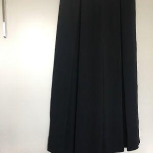 Massimo Dutti Pants & Jumpsuits - Massimo Dutti High Rise Wide Leg Black Trousers 8